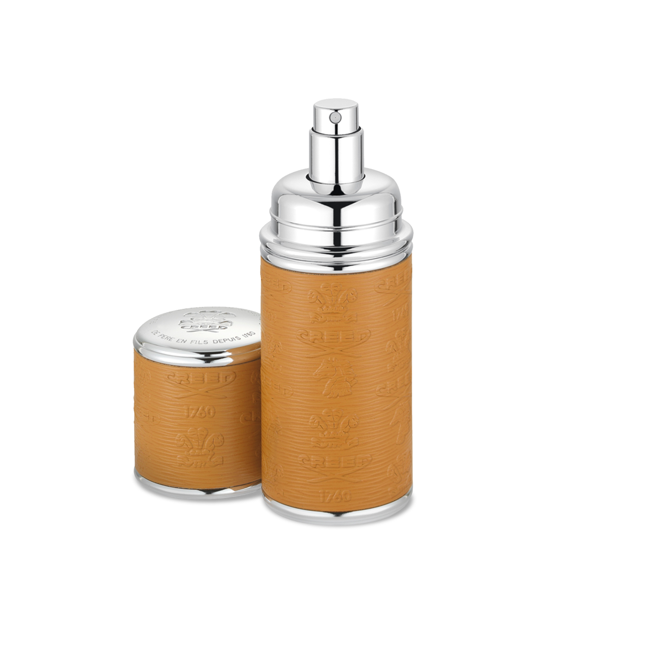 Camel With Silver Trim Deluxe Atomizer