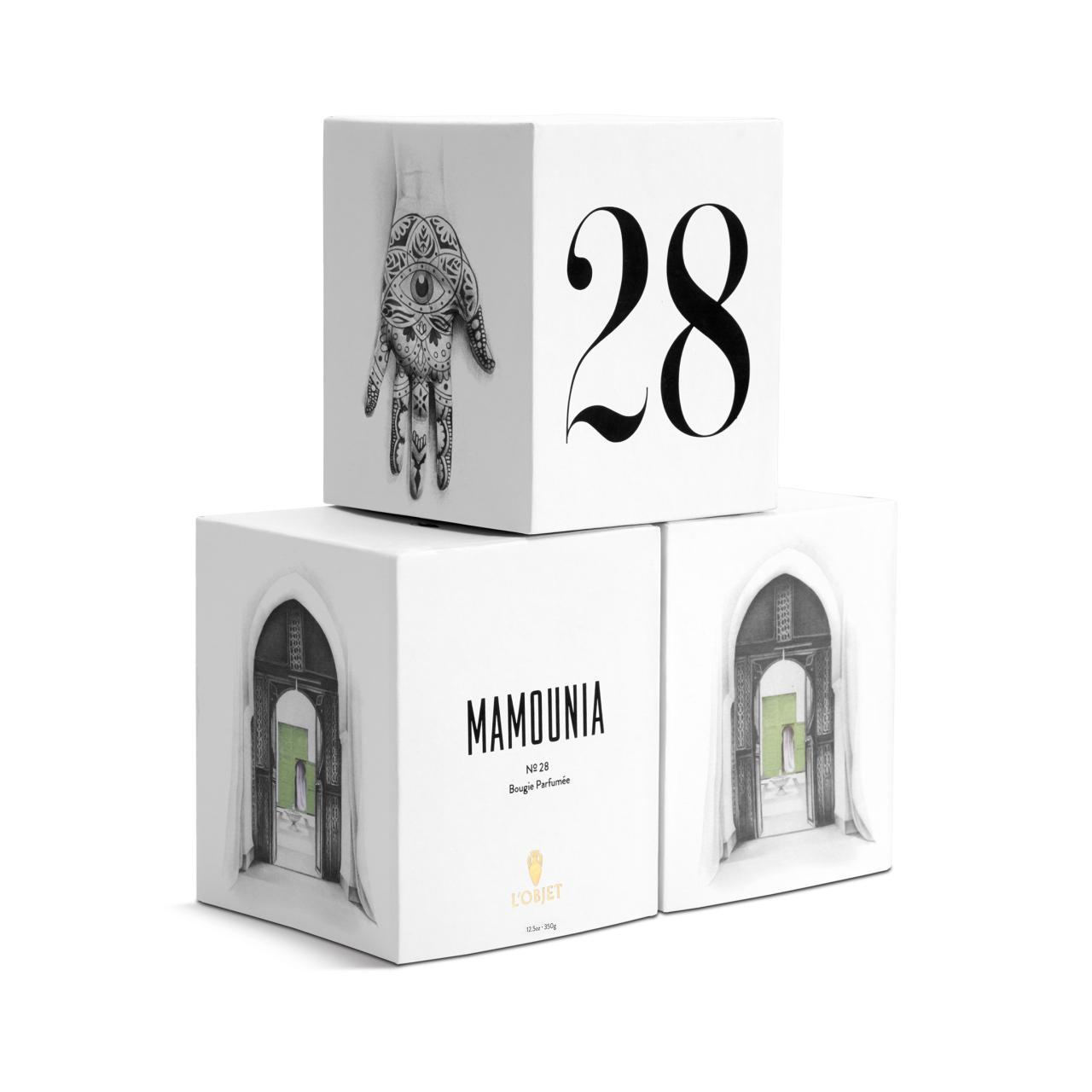 Parfums De Voyage Mamounia No28 Candle Lobjet