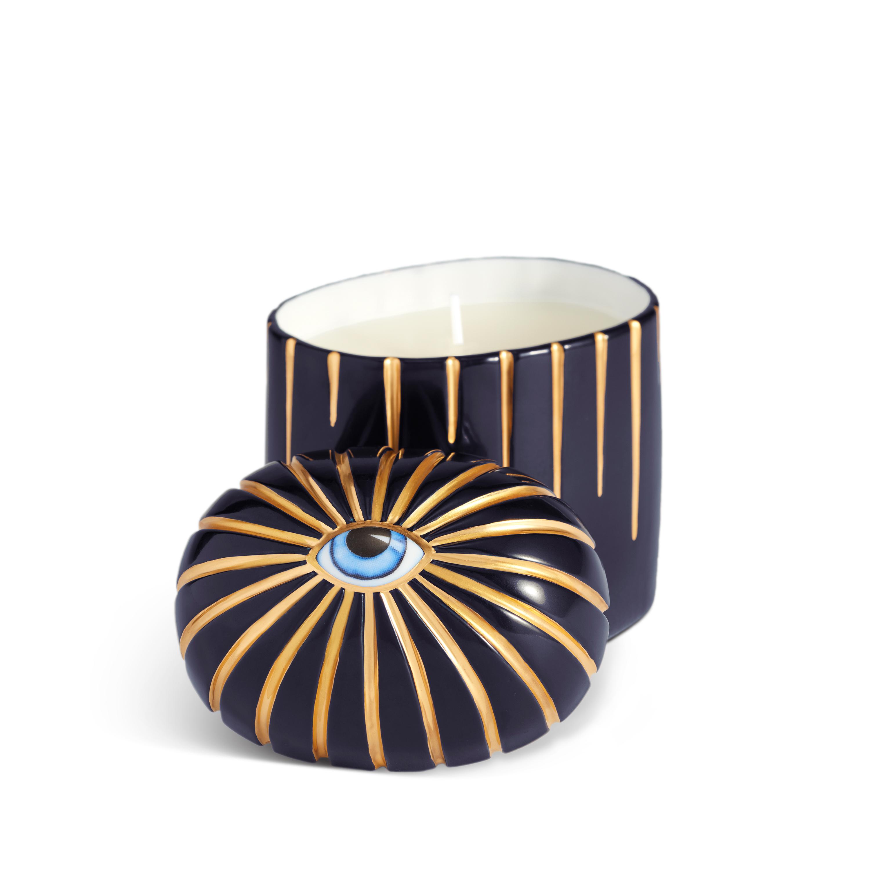 Bleu L/'Objet Lito Candle